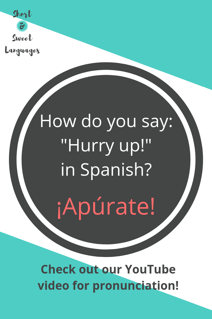 Learn How To Pronounce This Correctly In This Youtube 1 Minute Video And Learn A Lot More Phrases In Spanish Spanish Lessons Spanish Phrases How To Pronounce