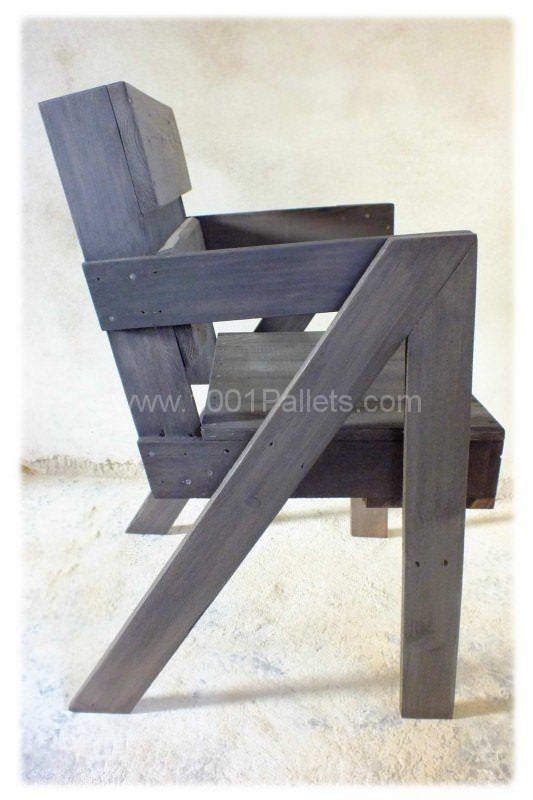 Chaise En Bois De Palette  Pallet Chair  Chaises En Bois Le Plan