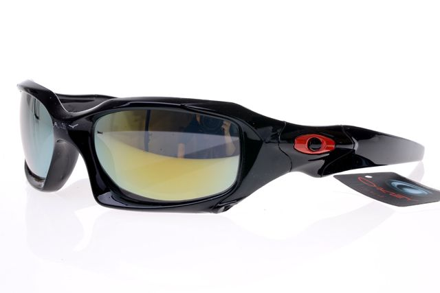 Oakley Gascan Sunglasses Black Frame Colorful Lens 0506