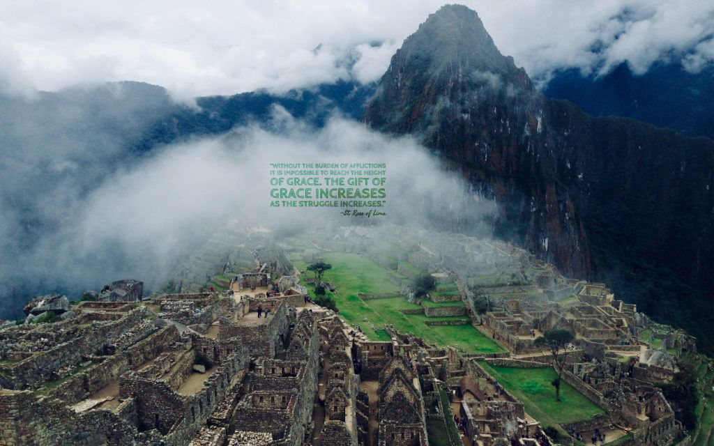 Height Of Grace Saint Rose Of Lima I Visited Peru In - How far is machu picchu from lima