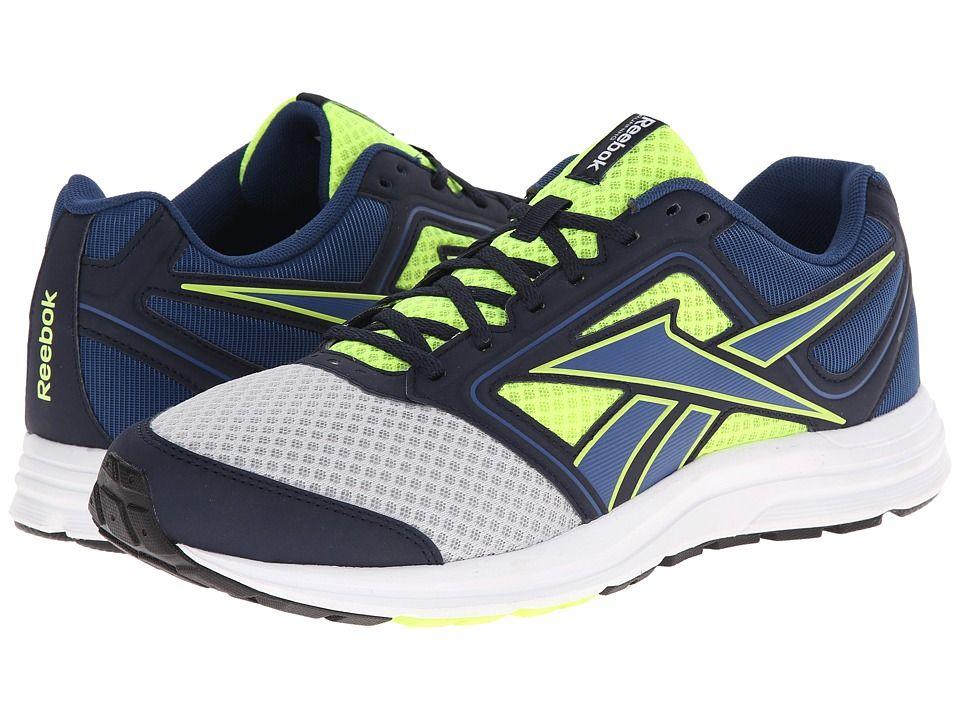 64d1f246593 REEBOK REEBOK - ZONE CUSHRUN MT (MATTE SILVER SOLAR YELLOW BATIK BLUE FAUX  INDIGO WHITE BLACK) MEN S SHOES.  reebok  shoes