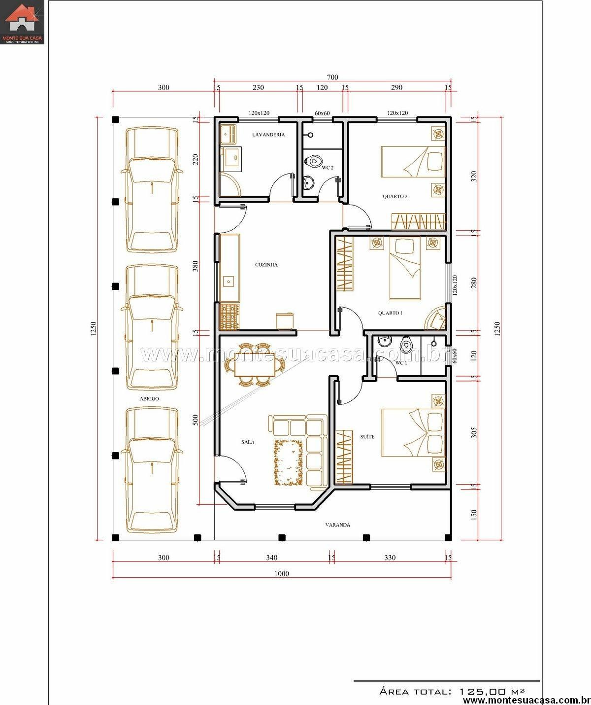 Modelo de casas de 3 quartos mi nueva meta la casa for Modelo de casa nueva