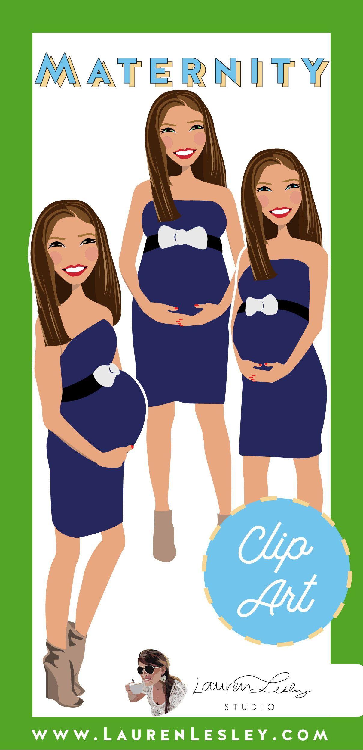 Maternity Clip Art Usagi Clip art, Maternity