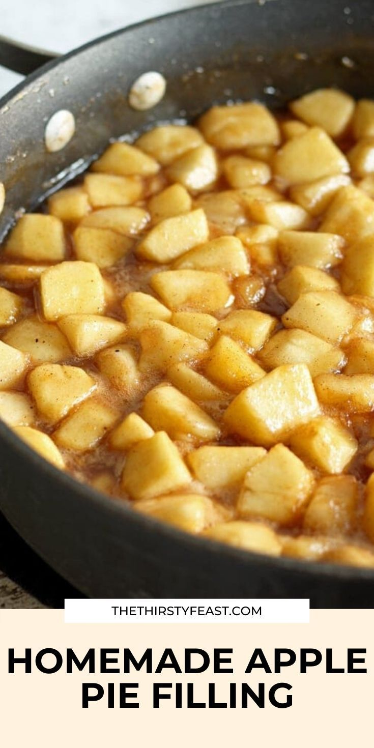 Homemade Apple Pie Filling - Perfect for Autumn Baking