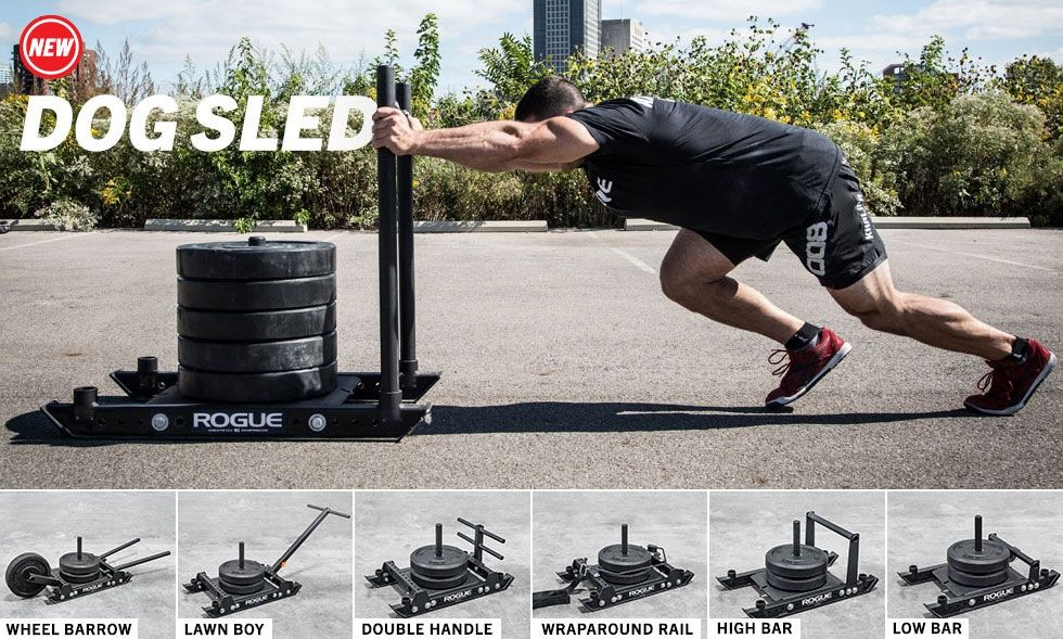 Rogue Dog Sled Push Pull Weight Training Rogue Fitness Sled