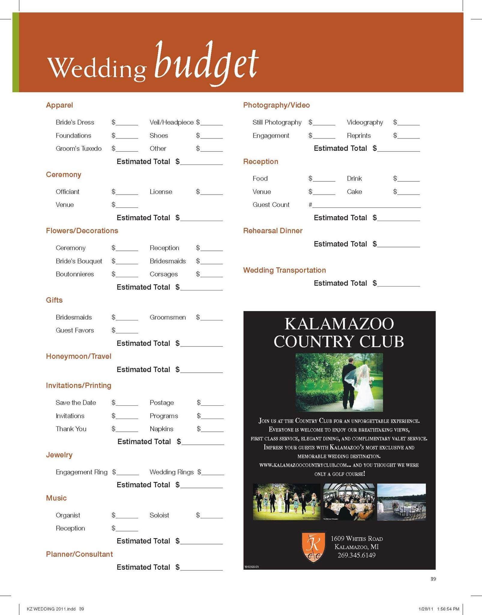 Yes I Do Mariage Blog Mariage Original Tendances Budget Wedding Wedding Planner Printables Wedding Planning
