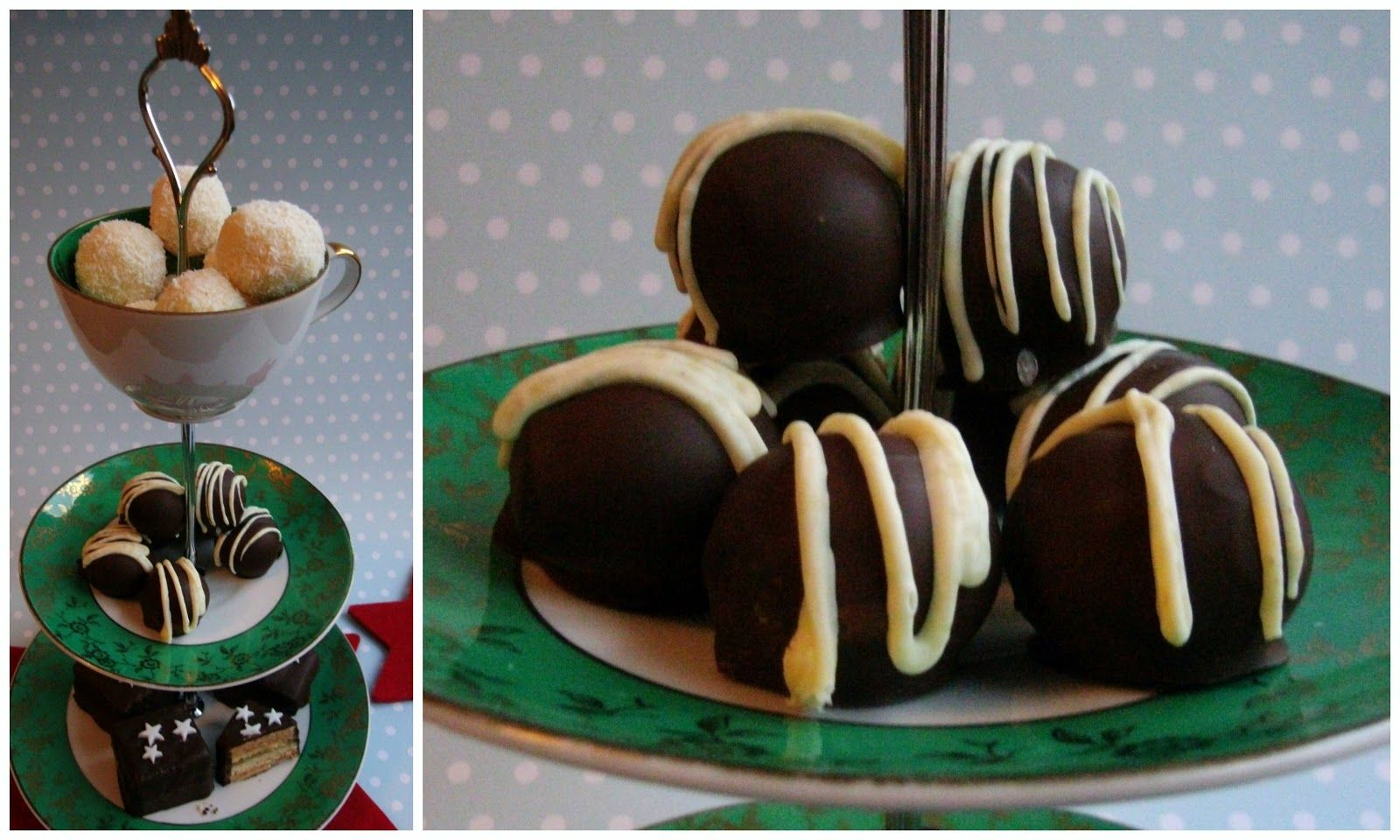 Miss Blueberrymuffin's kitchen: Marzipan-Macadamia-Pralinen