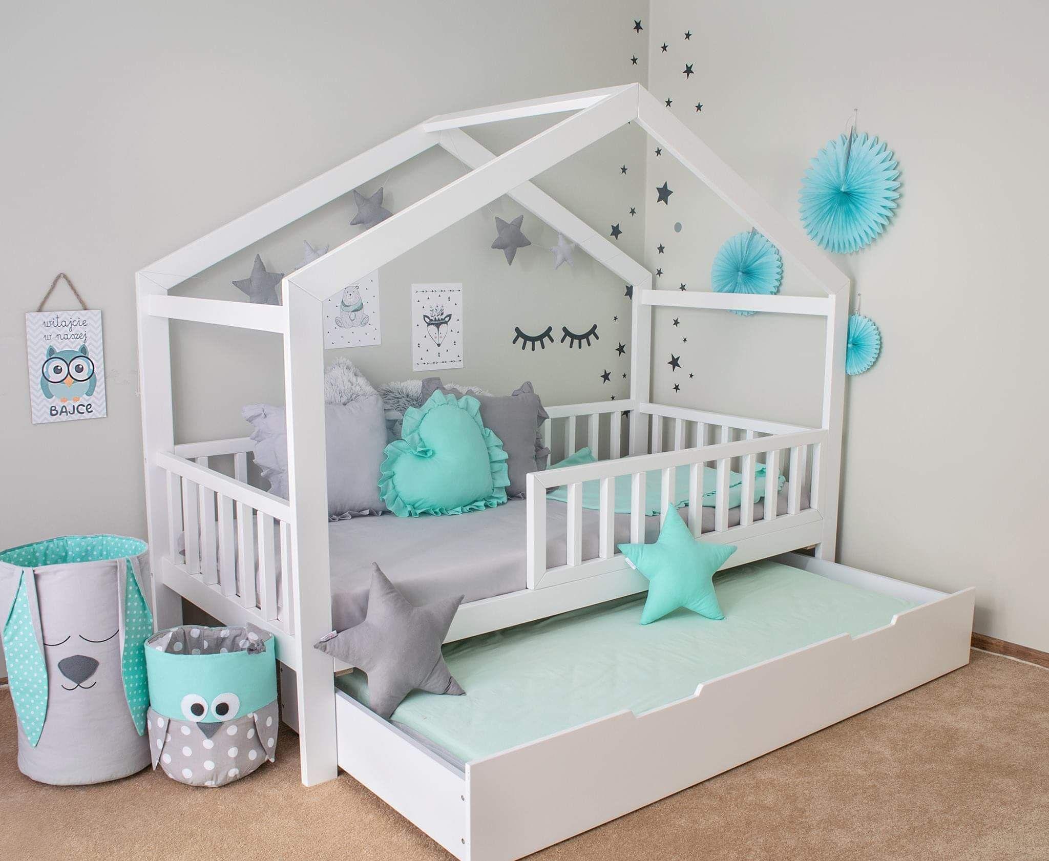 Hausbett mit schublade Kopenhagen PLUS – Kinderbett