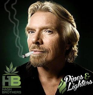 I am the founder of the Virgin Group, I am one of the wealthiest tokers on earth. I was Knighted in 2000. Who Am I? #Hash_Brothers @Hash_Brothers