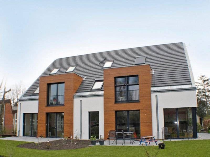 Moderne doppelhäuser satteldach  Pin von Tobias auf Doppelhaushälften (DHH) | Pinterest