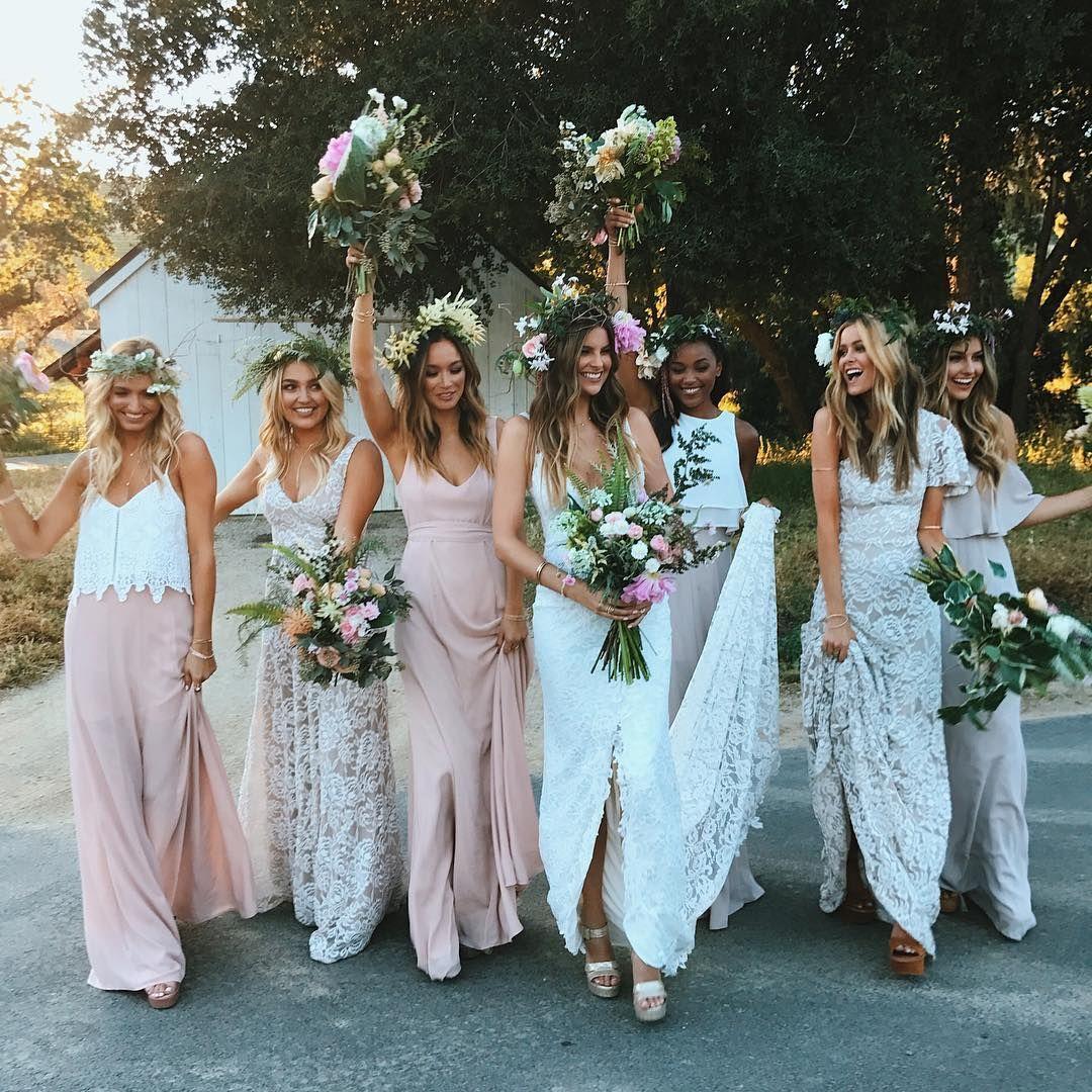 3439k followers 1272 following 5989 posts see instagram luxe bohemian chic wedding mumu weddings bridesmaid dresses coming soon ombrellifo Gallery