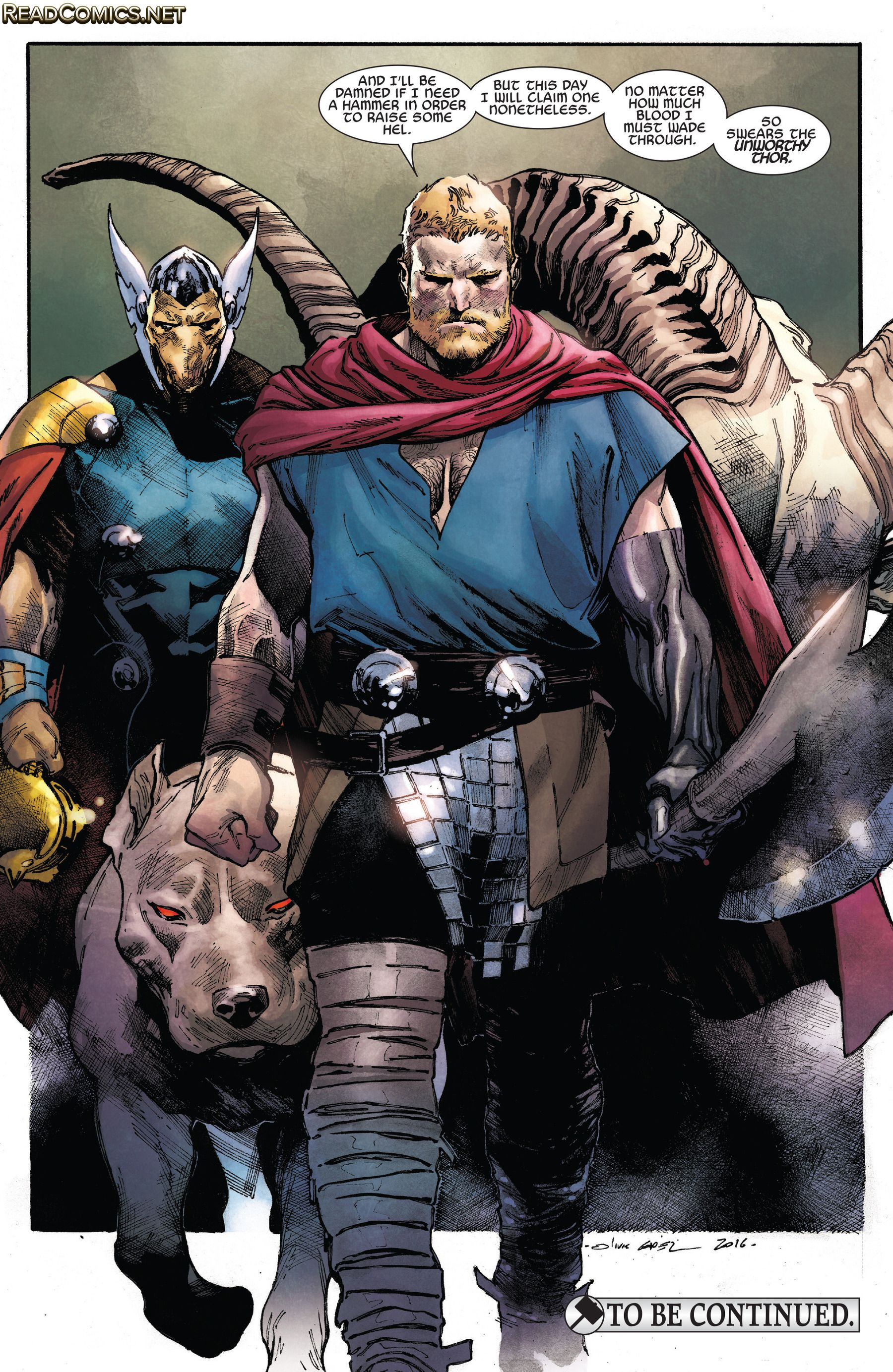 The Unworthy Thor (2016-) 3 Page 22