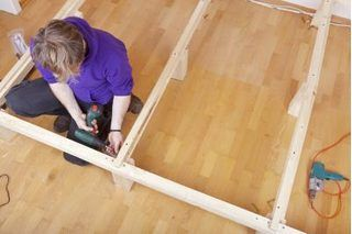 How To Make A Raised Platform In A Media Room Building A Deck