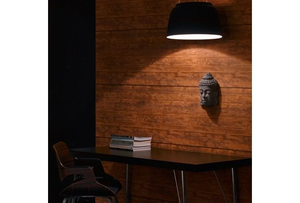 Täuschend echt und sehr edel! Diese schöne Tapete in Holzoptik - schöne tapeten für wohnzimmer
