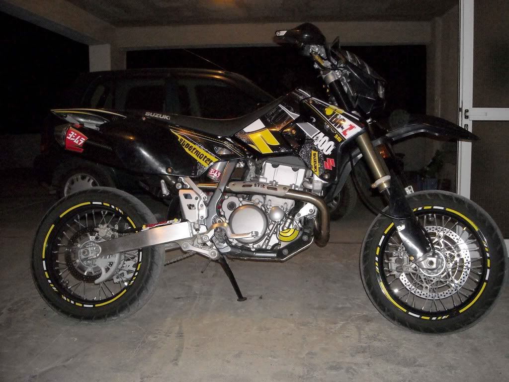 drz400 graphics | lets see your drz pic's along withlist of