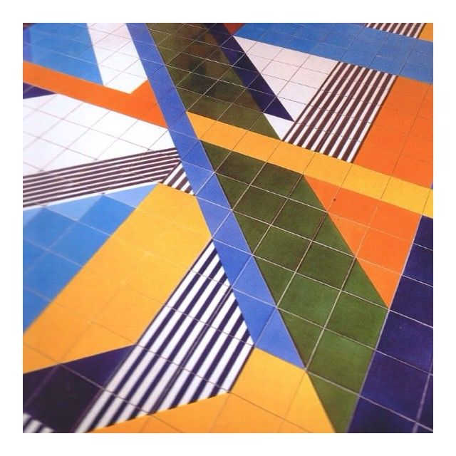 Dreaming of new tiles #GioPonti #Ceramics #Geometric #ColourBlock