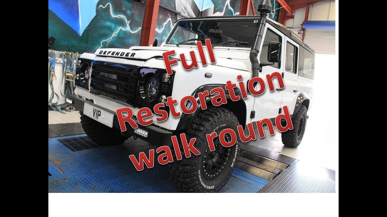 Land Rover Defender Restoration Defender Upgrades And Rebuild Review Land Rover Defender Land Rover Rebuild