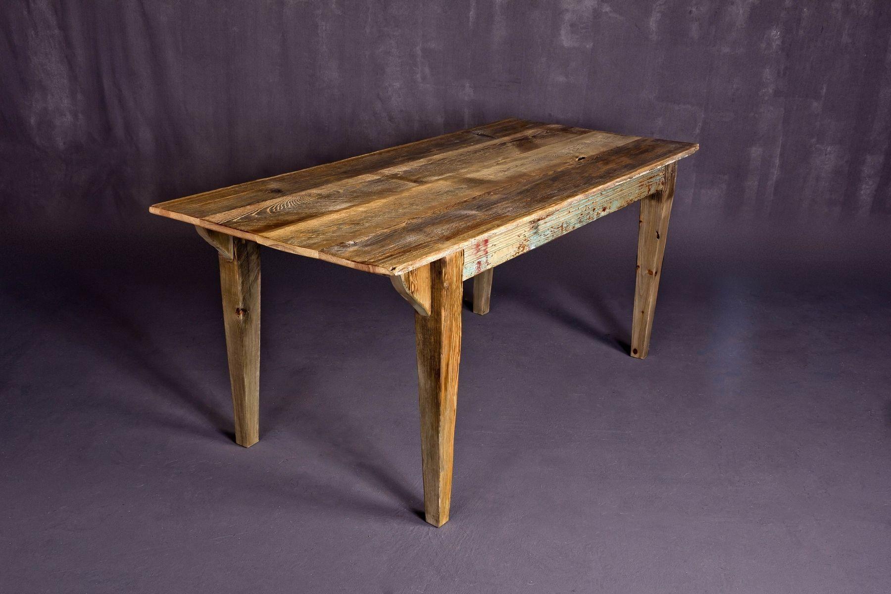 Custom Reclaimed Barn Wood Dining Tableheirloom Llc Adorable Custom Made Dining Room Tables 2018