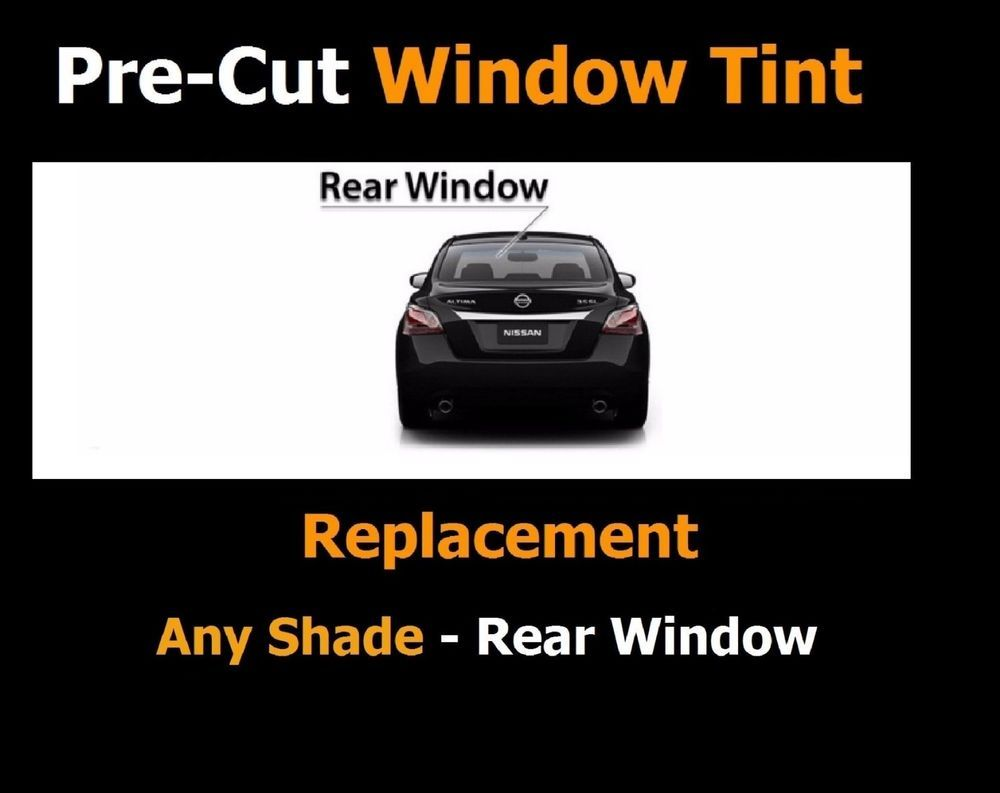 Rear Window Replacement Tint Kit Match For Hyundai Precut Film