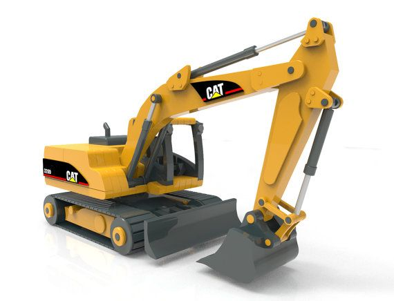 Cat 320D Excavator | Woodworking Shop | Wood toys plans