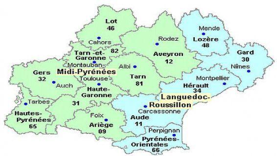 montauban region midi pyrenees