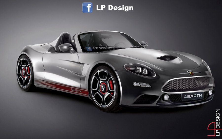 2017 Fiat Abarth 124 Spider Dramtically Rendered With Images