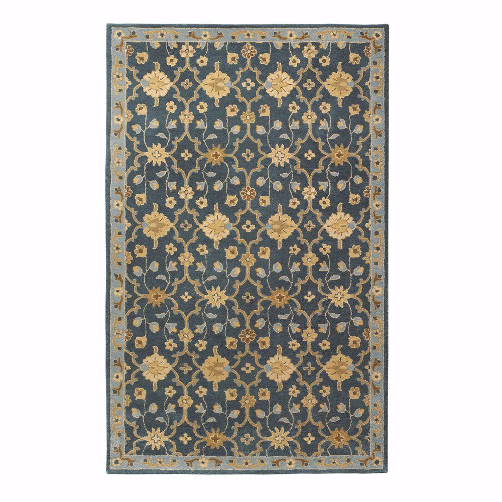 Exeter Blue 5 Ft X 8 Area Rug