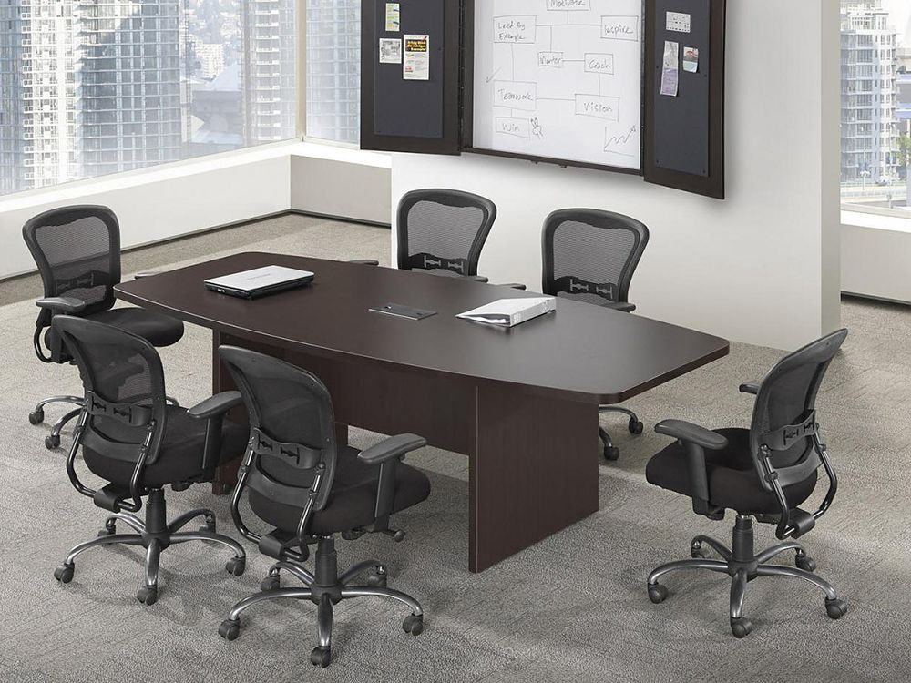 Boat Shaped Conference Table X Boat Shaped Conference - Conference table power center