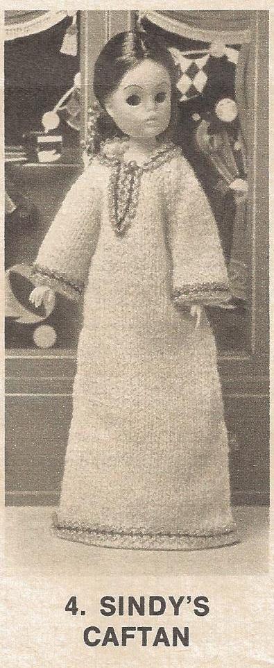 Vintage Crochet Knitting Patterns Sindy\'s Jumpsuit Caftan plus 19 ...