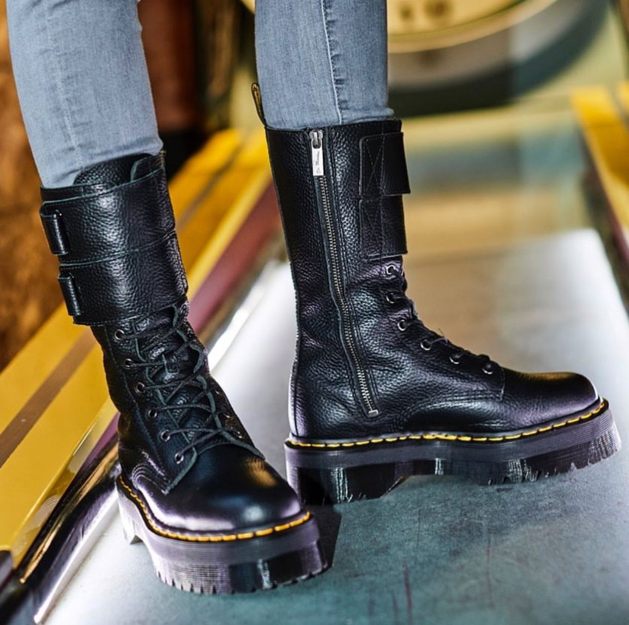 fef789b43ff The Jagger Boot | Dr Martens | Shoe lover in 2019 | Boots, Shoes ...