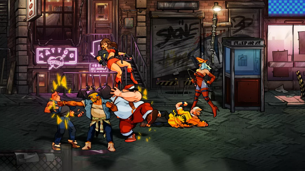 Streets Of Rage 4 2020 Rage Art Rage In His Steps
