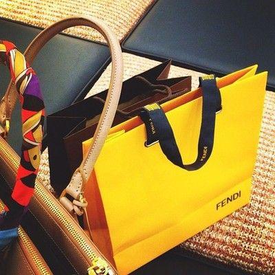 Fendi shopping bag Retail Bags 405693d195328