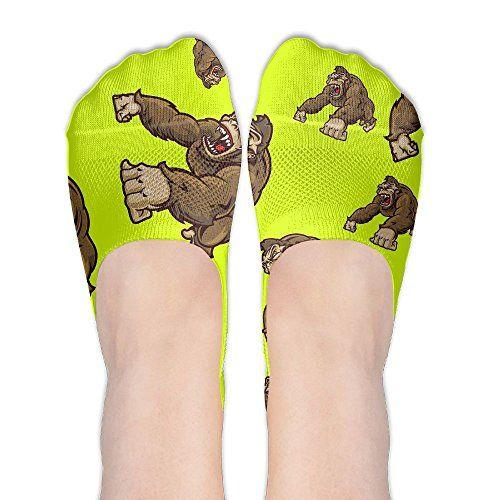 b4a8db8c Gorilla Funny Women Non Slip Socks Comfortable Sock in 2019 | Socks ...