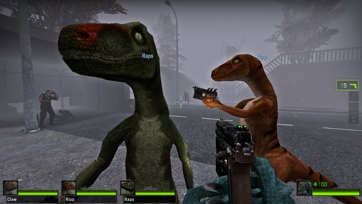 Raptor Survivor Skins Pack | Left 4 Dead | Left 4 dead
