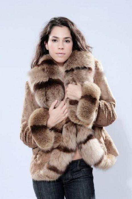 Fur Coat | Fur Coat (CTJ-9153) - China Fur Coat, Raccoon Collar ...