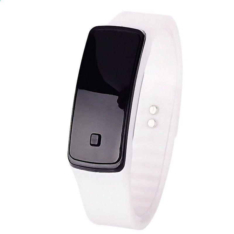 FUNIQUE Móda Dětské hodinky Digitální hodinky Ženy Elektronické hodinky  2017 Nové děti Silikon Led Sport hodinky hodinky Elektronické hodiny 6167e214e1f