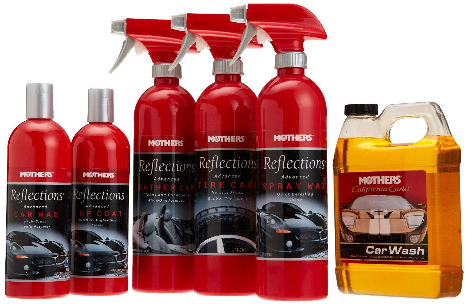 Mothers Reflections Car Care Kit Pulse Mall Car care