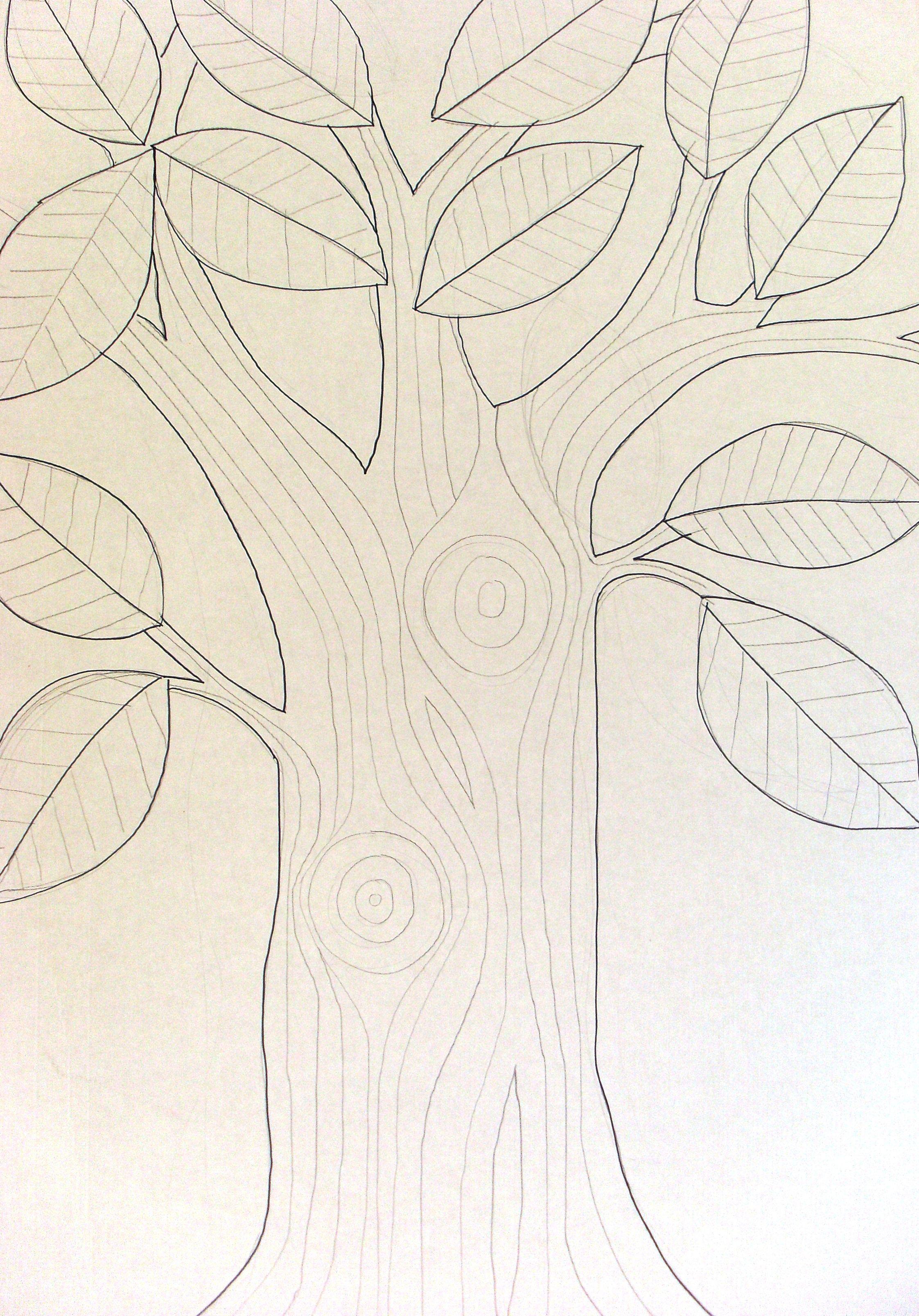 Drawing for wishing tree by Zoe Mafham www.zoemafham.wix ...