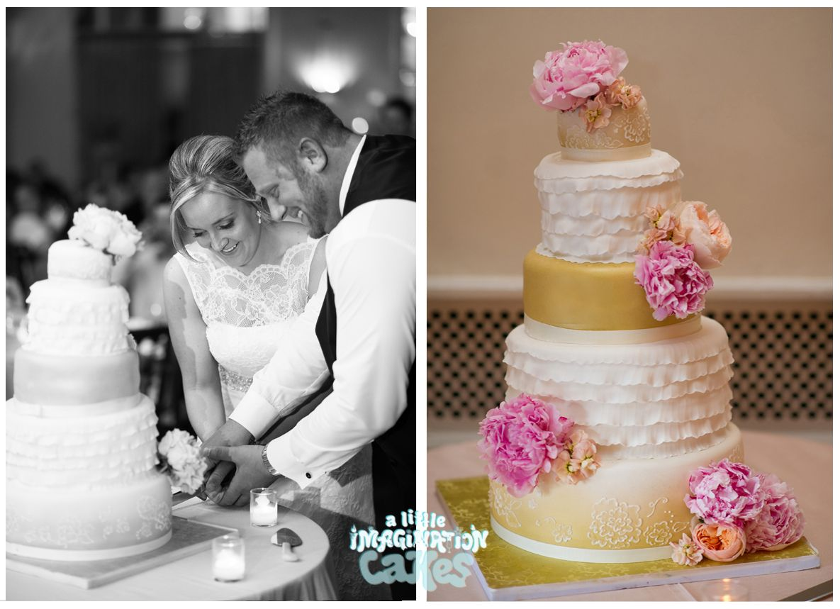Beautiful wedding cake by a little imagination cakes wedding cakes