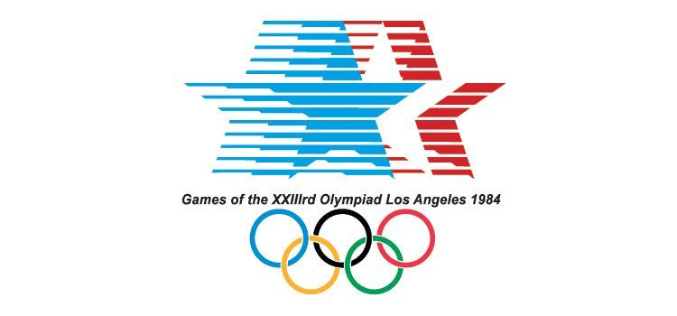 Logos Of The Olympic Games Of The Last 100 Years Feel Desain Your Daily Dose Of Creativity Olympic Logo 1984 Olympics 1984 Summer Olympics