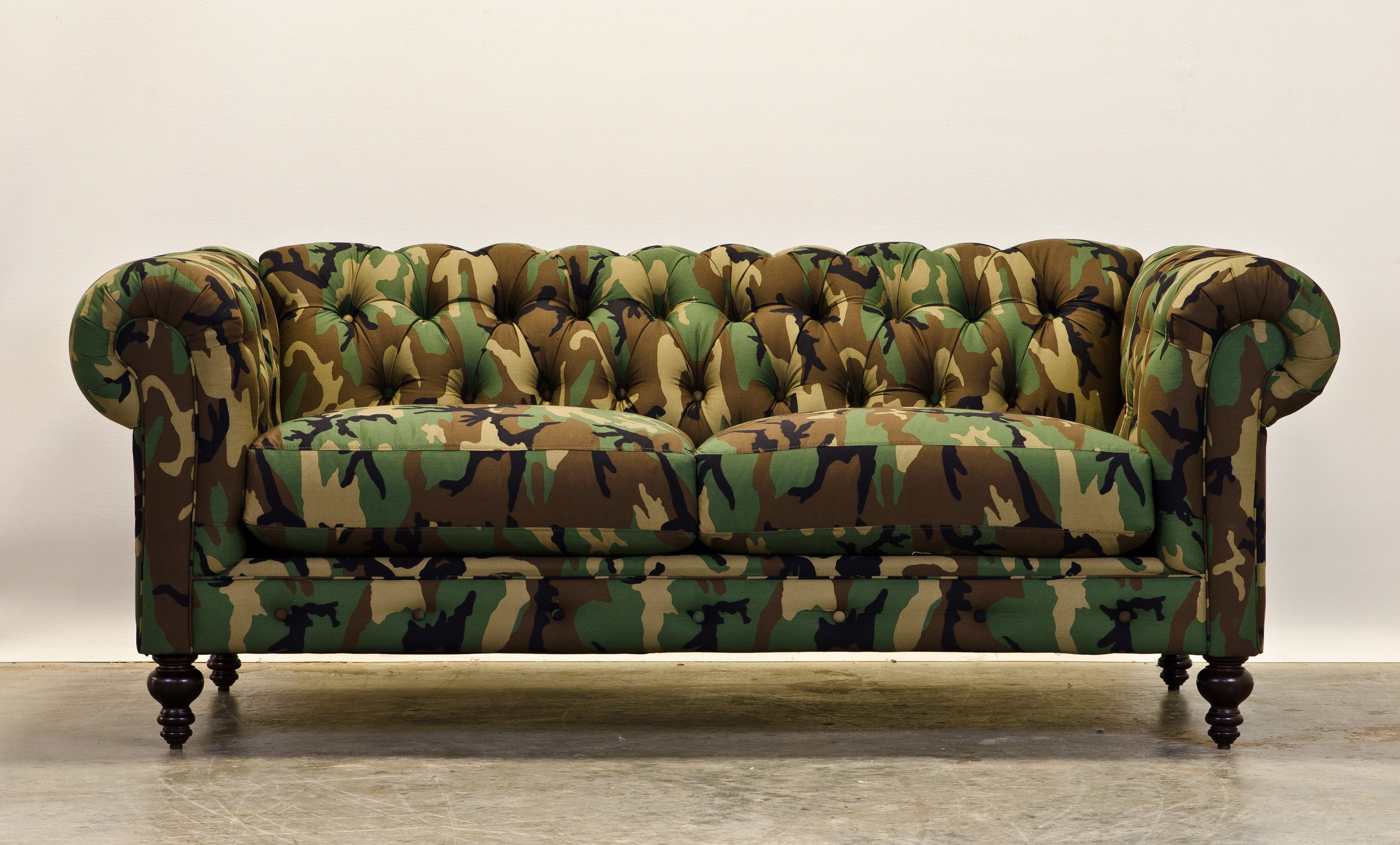 The Camofield Couch By The Comfortable Couch Company Cococo Home