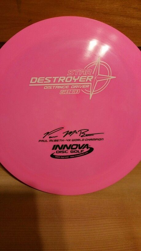 Mcbeth Signature Destroyer Disc Golf Instagram Bio Golf