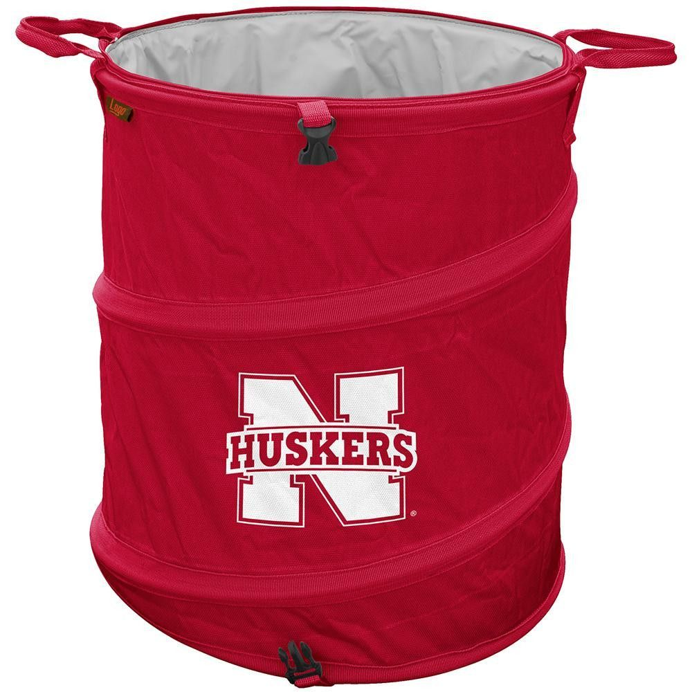 Nebraska Cornhuskers NCAA Collapsible Trash Can