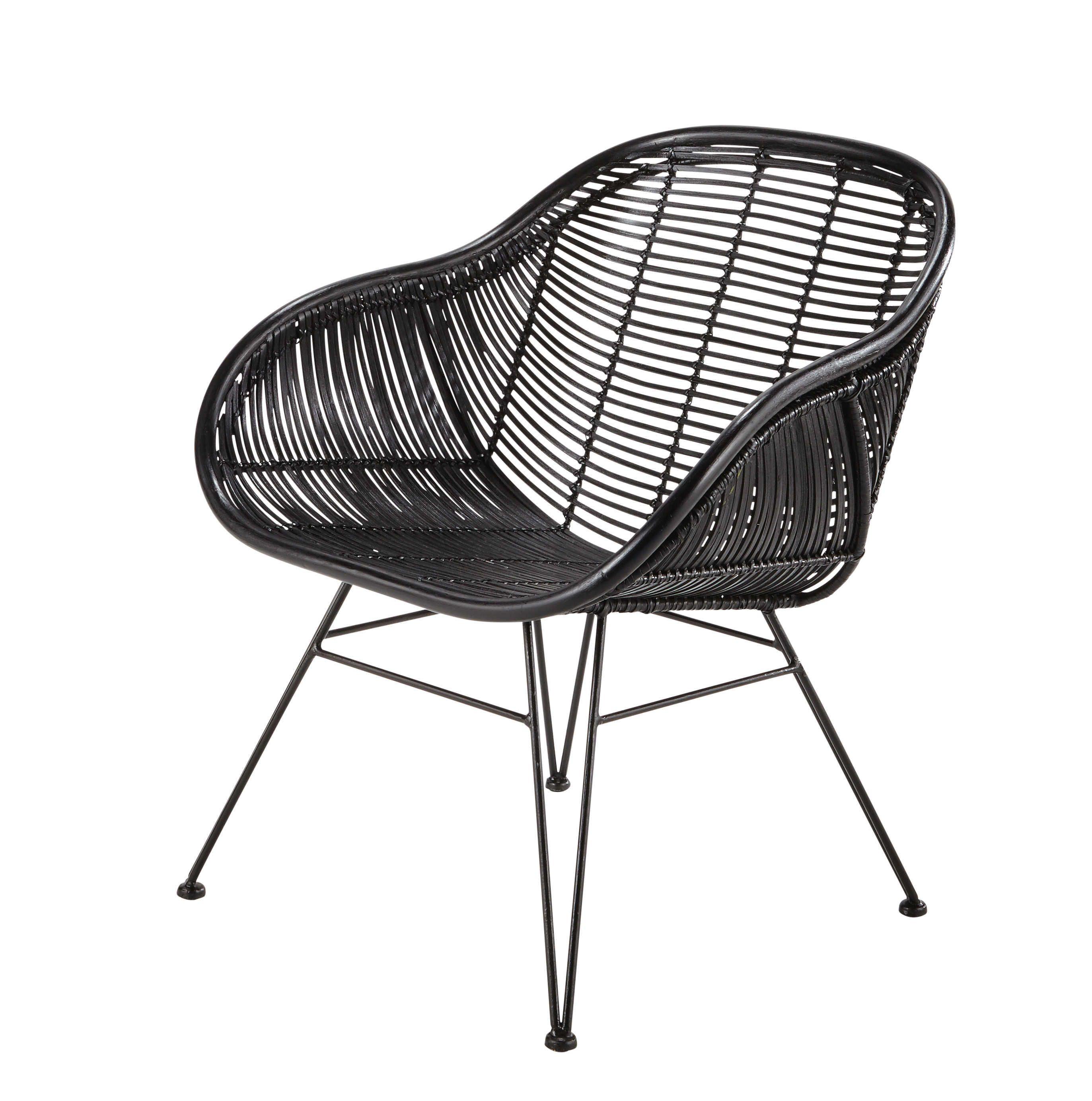 Seating Rattan Armchair Black Rattan Chair Rattan