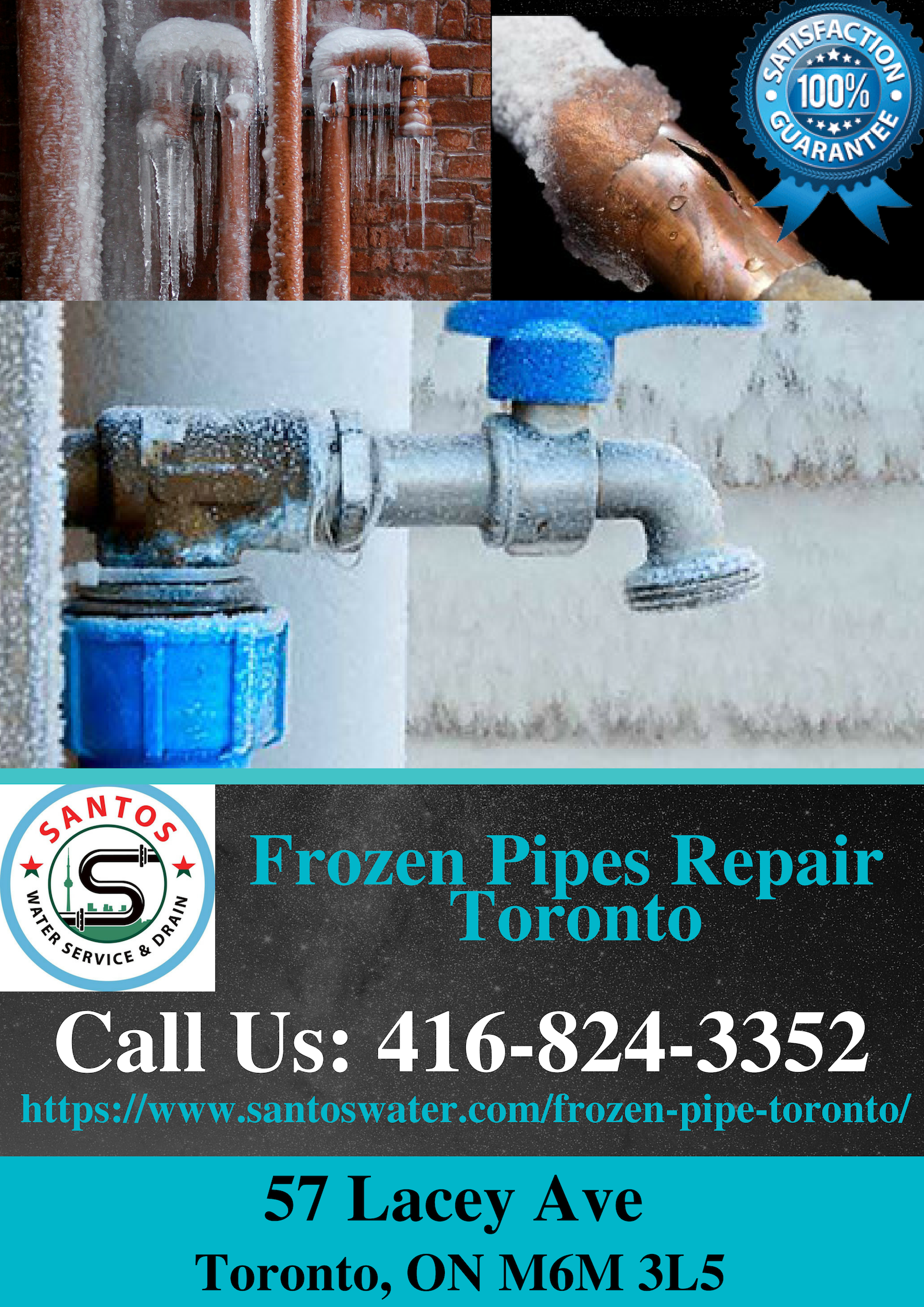 Looking For Frozen Pipes Repair Toronto Mississauga And Brampton