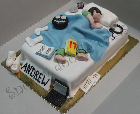 Adulthood Was Never So Delicious 18th Birthday Cake Designs