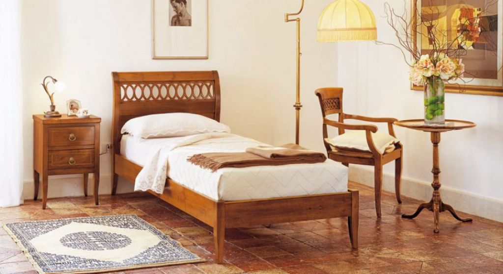 Charming Bedroom Ideas. Bedroom Furnishing Inspiration With Cool Single Bed Frame  Designs: Traditional Bedroom With