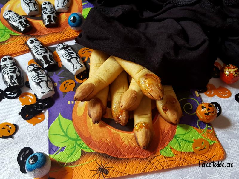 DITA DI STREGA Dolcetti, Ricette, Festa di halloween