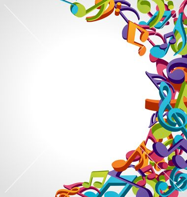 Music Notes Colorful Border Images & Pictures Becuo