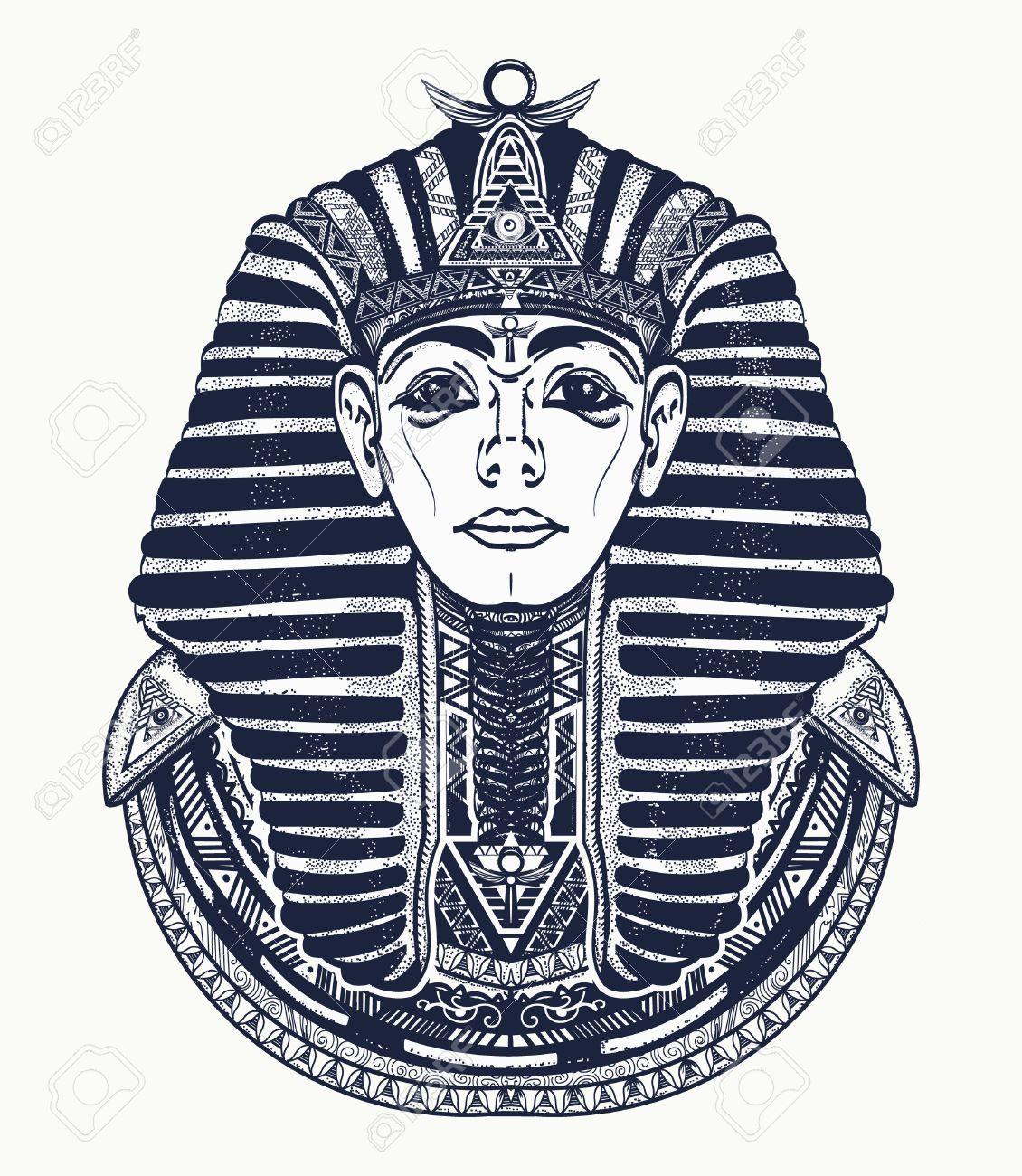 Stock Photo Life Facts Tatouage Tatouage égyptien Et